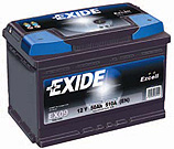 Exide Excell akkumul�tor